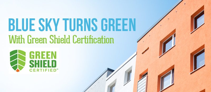 Blue Sky Pest Control Green Shield Certification
